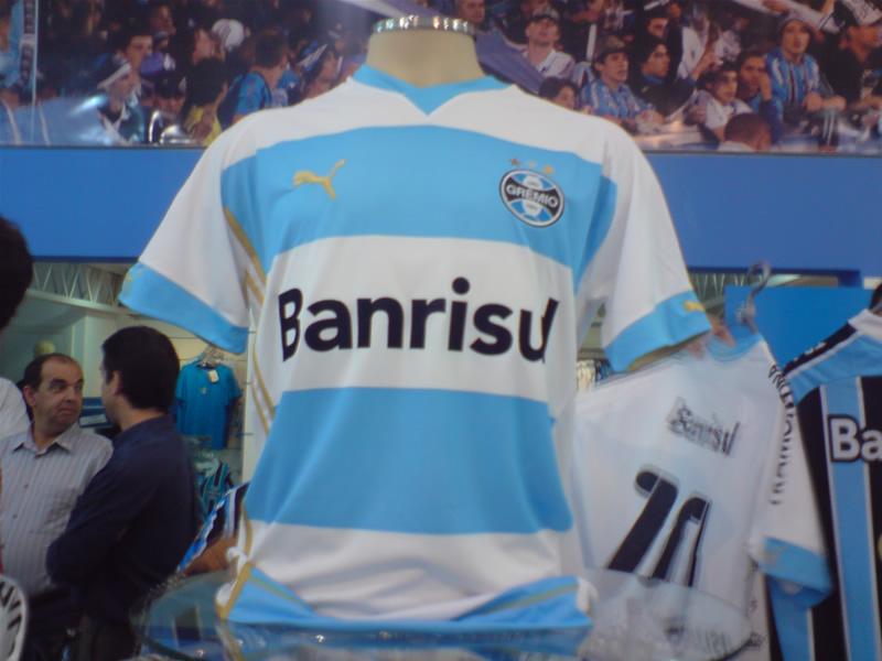 Camisas do Grêmio para Libertadores 2009  a1e130c6c0763