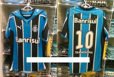 Camisa 1 - Grêmio - Hipótese - 2009
