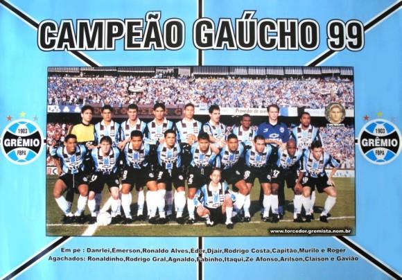 1999 - Poster - Campeao Gaucho 1999
