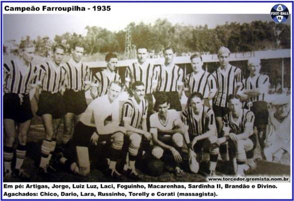 Equipe Gremio 1935