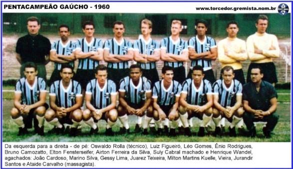 Equipe Gremio 1960 G