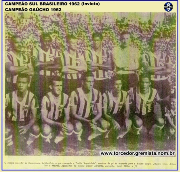 Equipe Gremio 1962