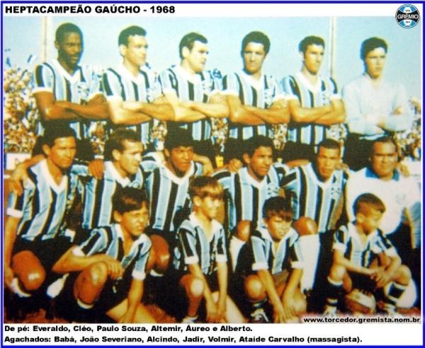 Equipe Gremio 1968 B