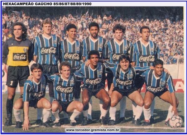 Equipe Gremio 1990