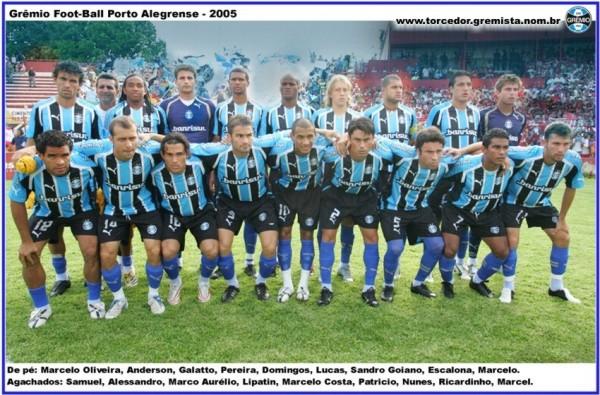 Equipe Gremio 2005