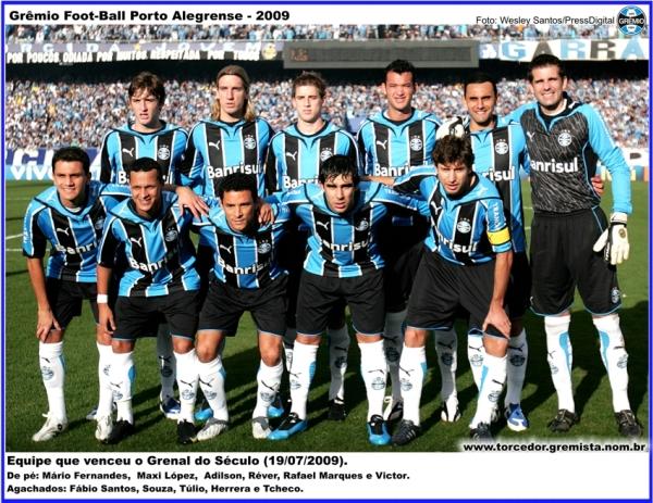 Equipe Gremio 2009 C