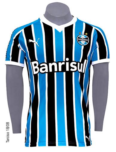 Camisa do Grêmio  beleza pela sua simplicidade  ffcc6b7855e02