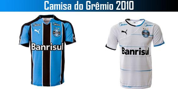 7e0ff391da Camisas do Grêmio 2010
