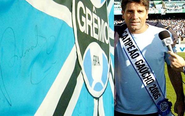 No Grêmio, Portaluppi quer retomar carreira vitoriosa, agora como treinador - Foto: Site oficial do Grêmio
