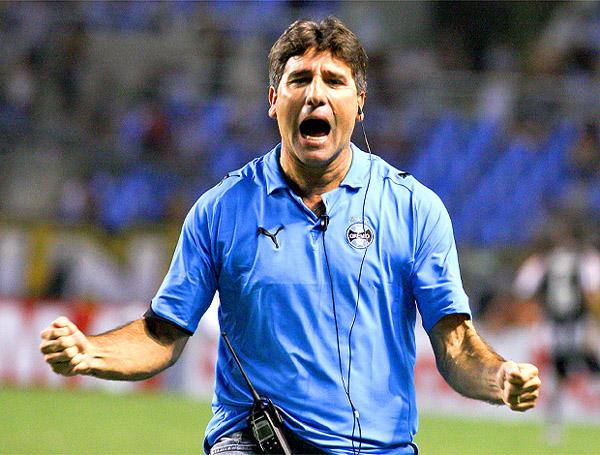 Renato Gaúcho, a marca da reação tricolor em 2010. Foto: AE