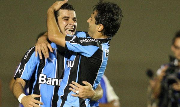 Andre Lima fez o primeiro gol do Grêmio - Carlos Costa (LancePress)