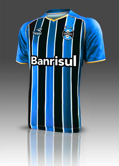 Topper é a nova fornecedora de materal esportivo do Grêmio  cc23eb8068069