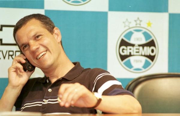 Antônio Vicente Martins negocia parceria do Grêmio com a Traffic - Foto: Júlio Cordeiro (ClicRBS)