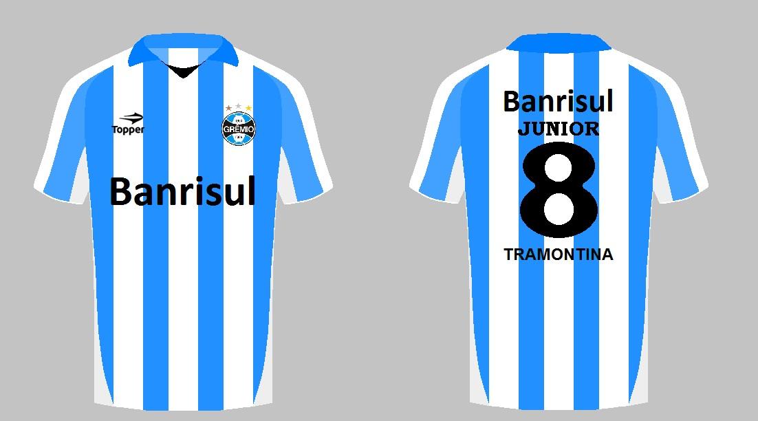 Camisa Grêmio-Topper  d434934c12625