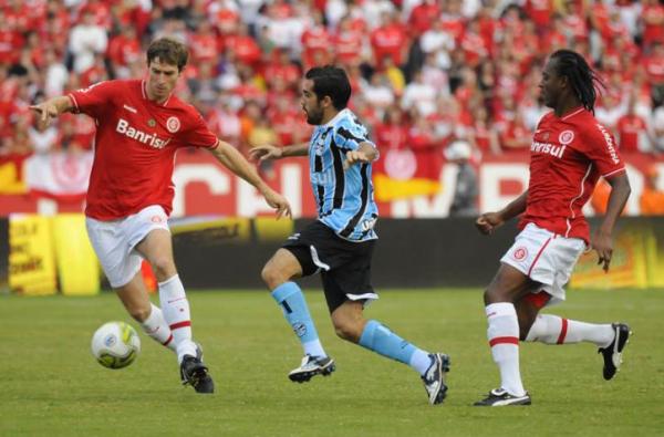 Escudero teve boa participação no primeiro tempo - Foto: Pedro Revillion